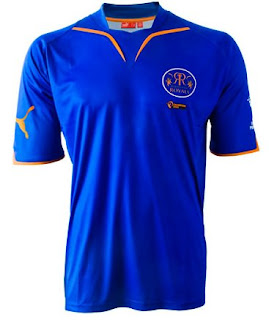 OFFICIAL TEAM JERSEY of Rajasthan royals