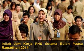 Jam Kerja PNS di Bulan Ramadhan