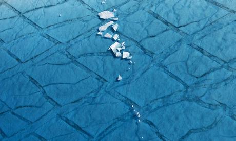 Photograph, Daniel Beltra: Poem Climate change Daniel Betra Ilulissat, Greenland.