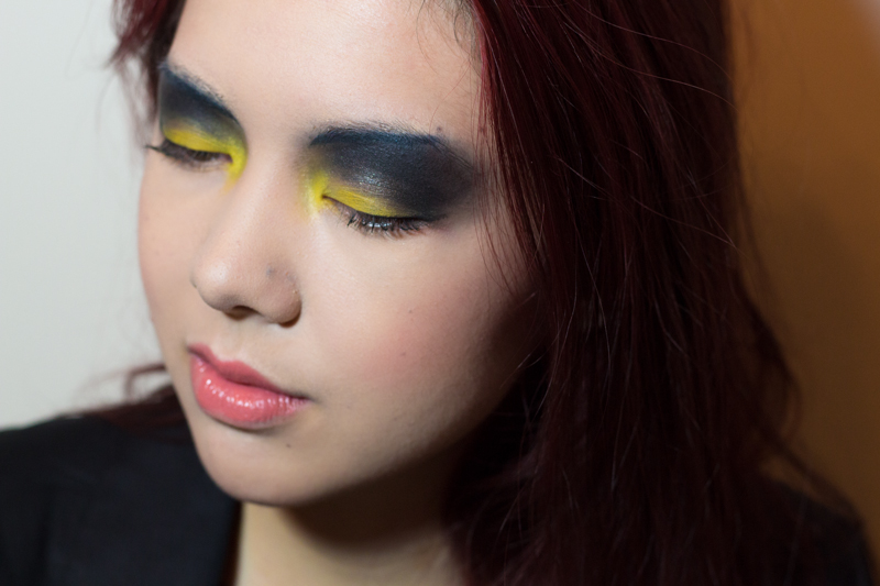covergirl capitol catching fire makeup look district 12
