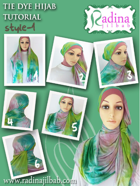 Cara Pakai Jilbab Ala Hijab Malaysia