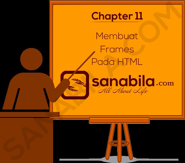 Chapter 11. Cara Membuat Tag Frames (Bingkai) Pada HTML
