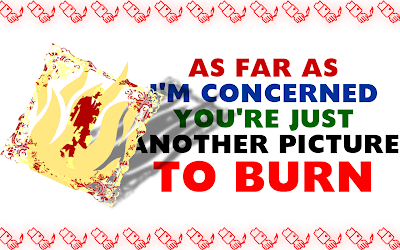 Picture To Burn - Taylor Swift Song Lyric Quote in Text Image