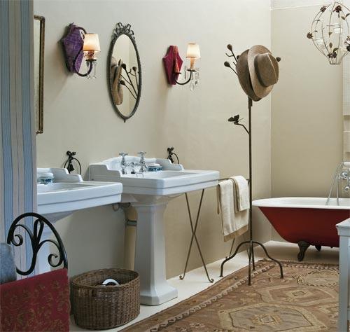 v mo l em casa banheiro e lavabo retr. Black Bedroom Furniture Sets. Home Design Ideas
