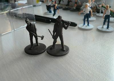 Zombivores Zombicide second shipment kickstarter survivors dave chaz eagle cardboard samurai troy cholo