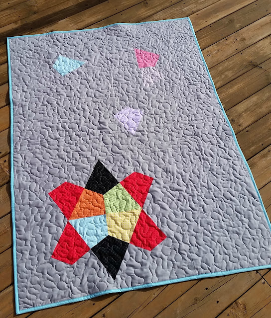 Fractal Quilt | Kites Plus Ruler | Creative Grids Ruler | Fat Quarter Shop Pattern | Sew at Home Mummy