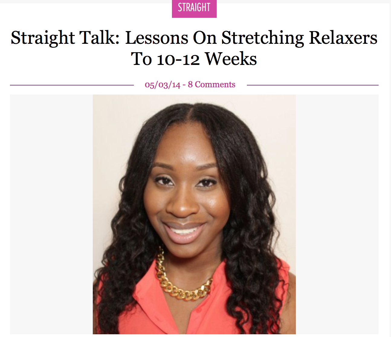 Lessons on Stretching Relaxers to 10-12 Weeks