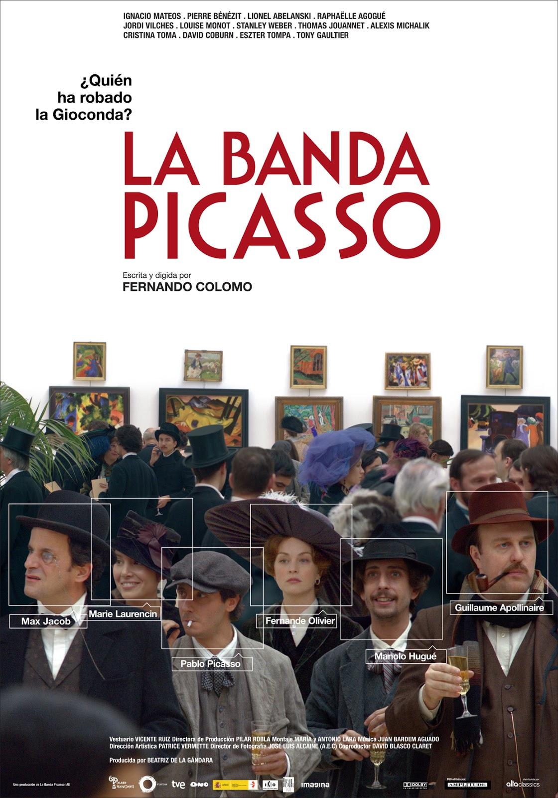 La banda Picasso': ¿Quién ha robado la Gioconda?