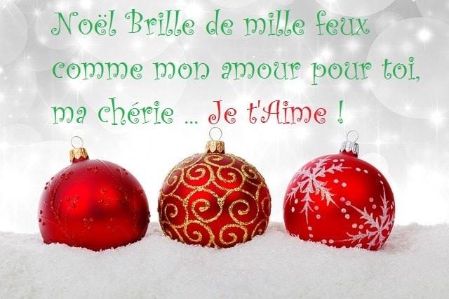 Berühmt SMS d'amour 2018 - SMS d'amour message: Beaux Textes de Vœux pour Noël GW96