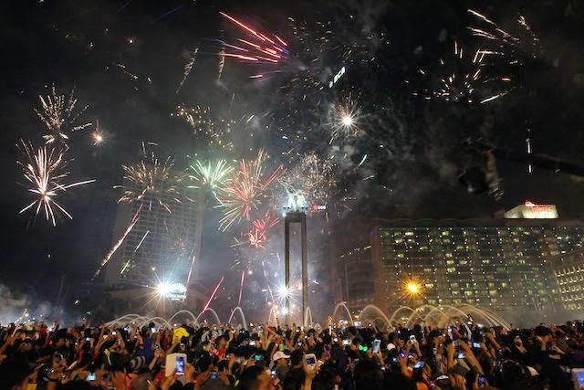 Pesta Tahun Baru di Aceh Tanpa Pesta Kembang Api