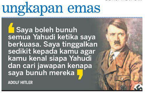 Ungkapan emas Hitler