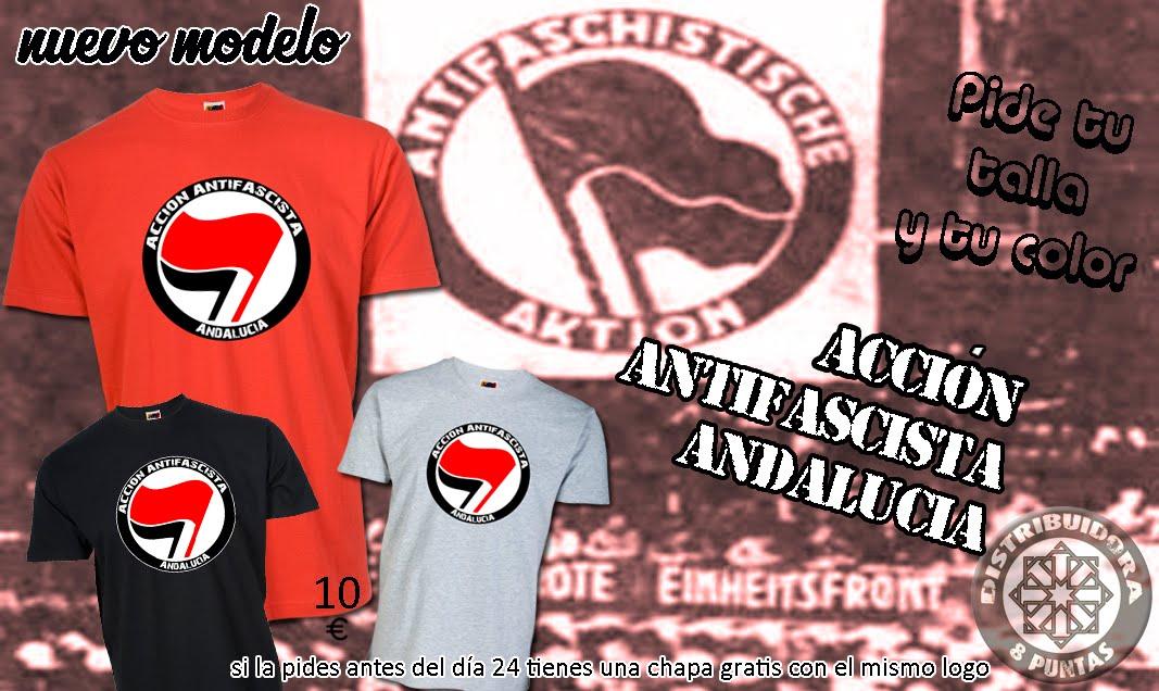 Camiseta Acción Antifascista Andalucía