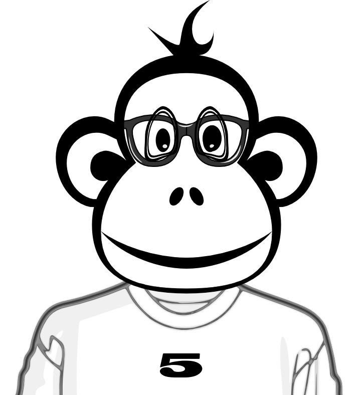monkey number 5