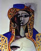 1954 Pablo Picasso (Spanish artist, 1881–1973) Jacqueline Rocque.