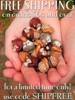 Get your beads home for free!