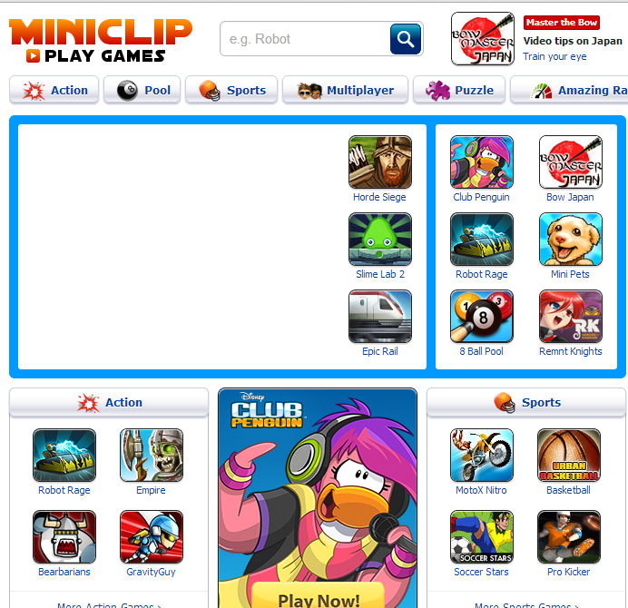 miniclip games for download for pc