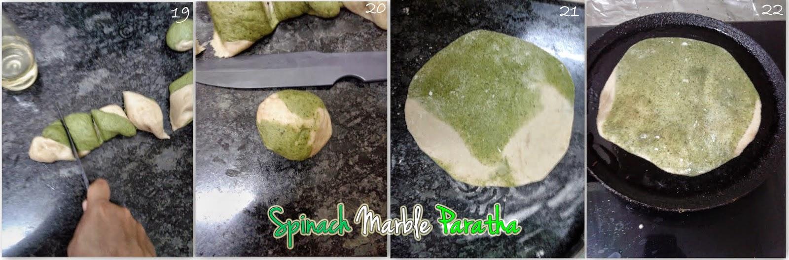 green-chapathi