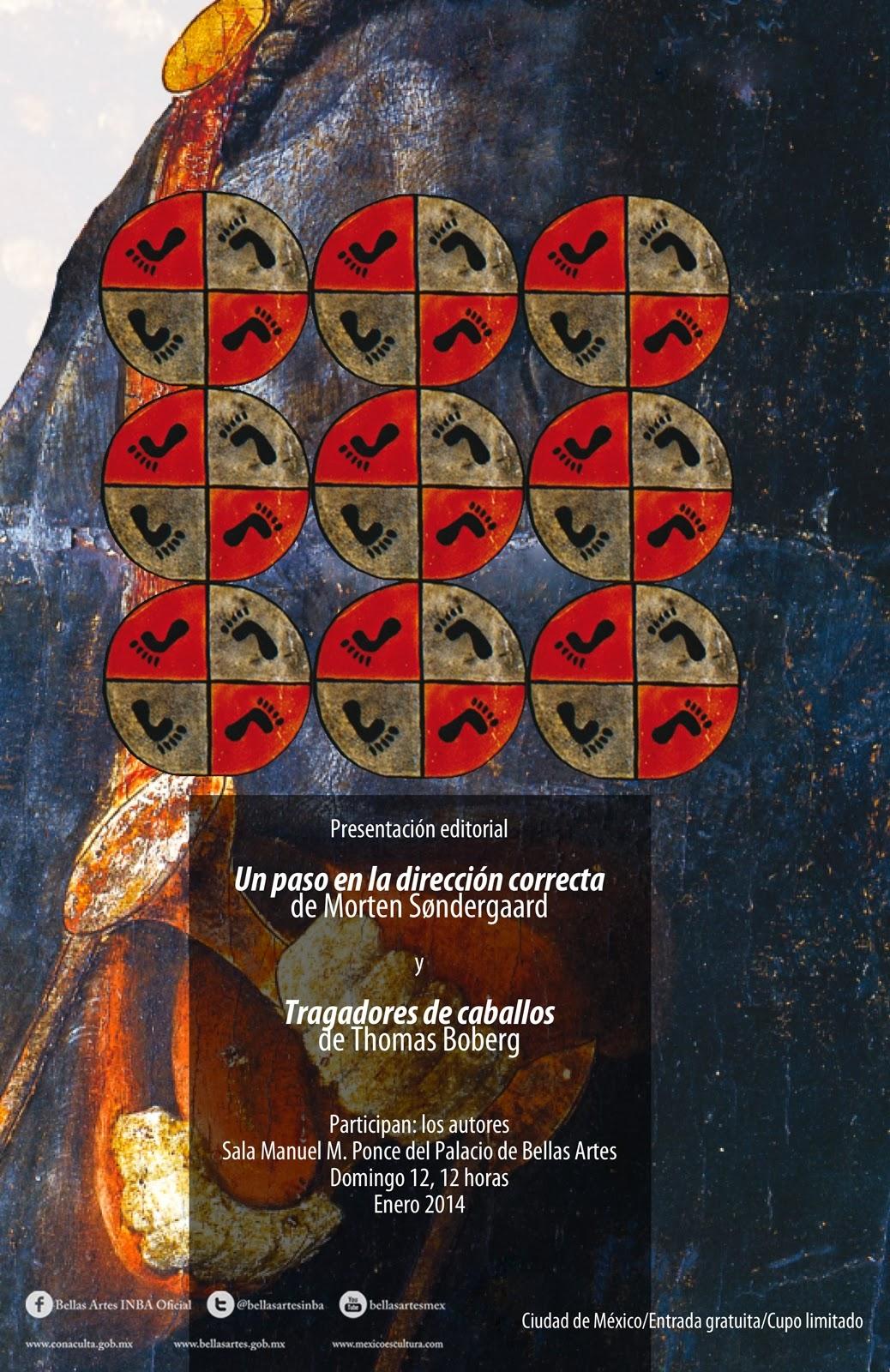 Presentación editorial de dos libros daneses traducidos al español
