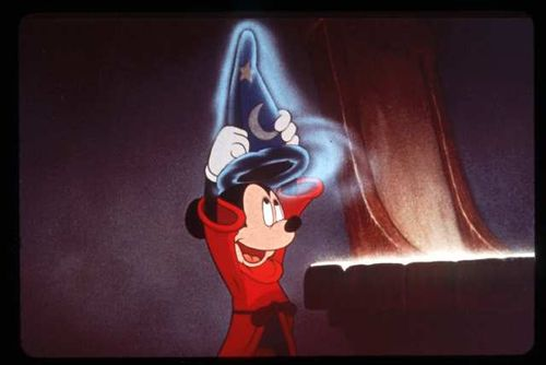Mickey Sorceror's Apprentice Fantasia 2000 1999 animatedfilmreviews.blogspot.com
