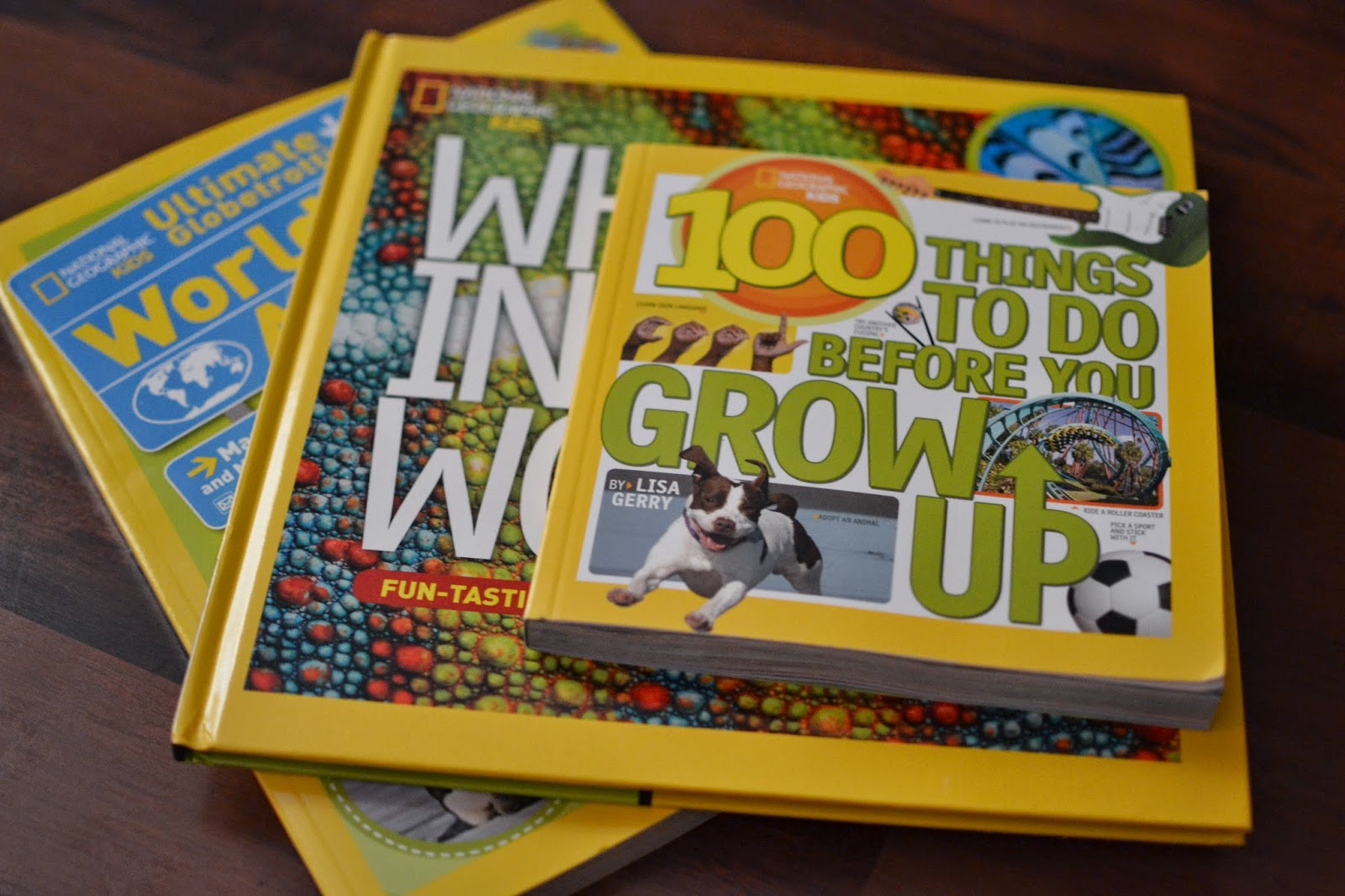 National Geographic Kids Books #Giveaway