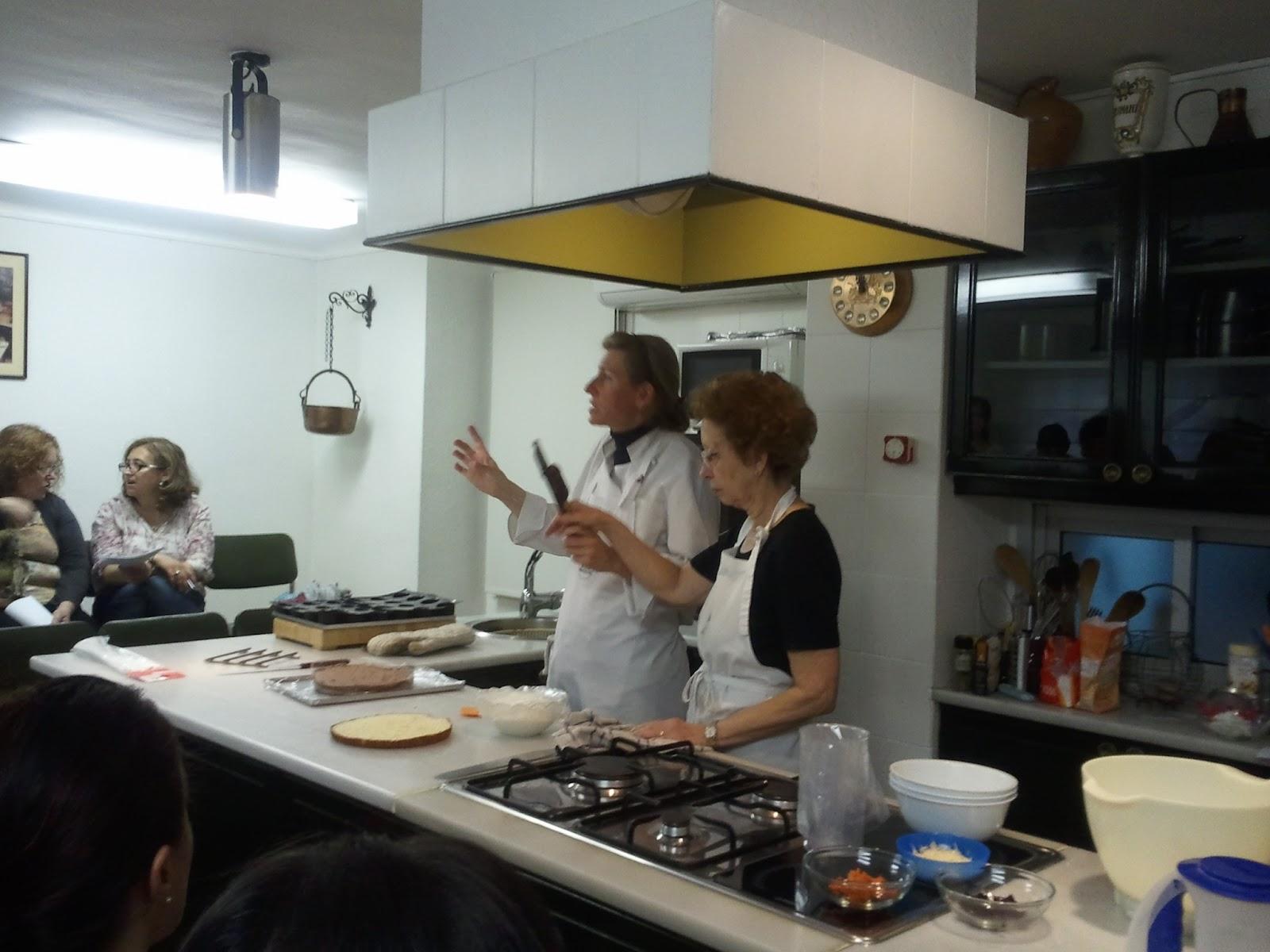 Mono de trigo segunda sesi n de curso de cocina sin for Clases de cocina barcelona