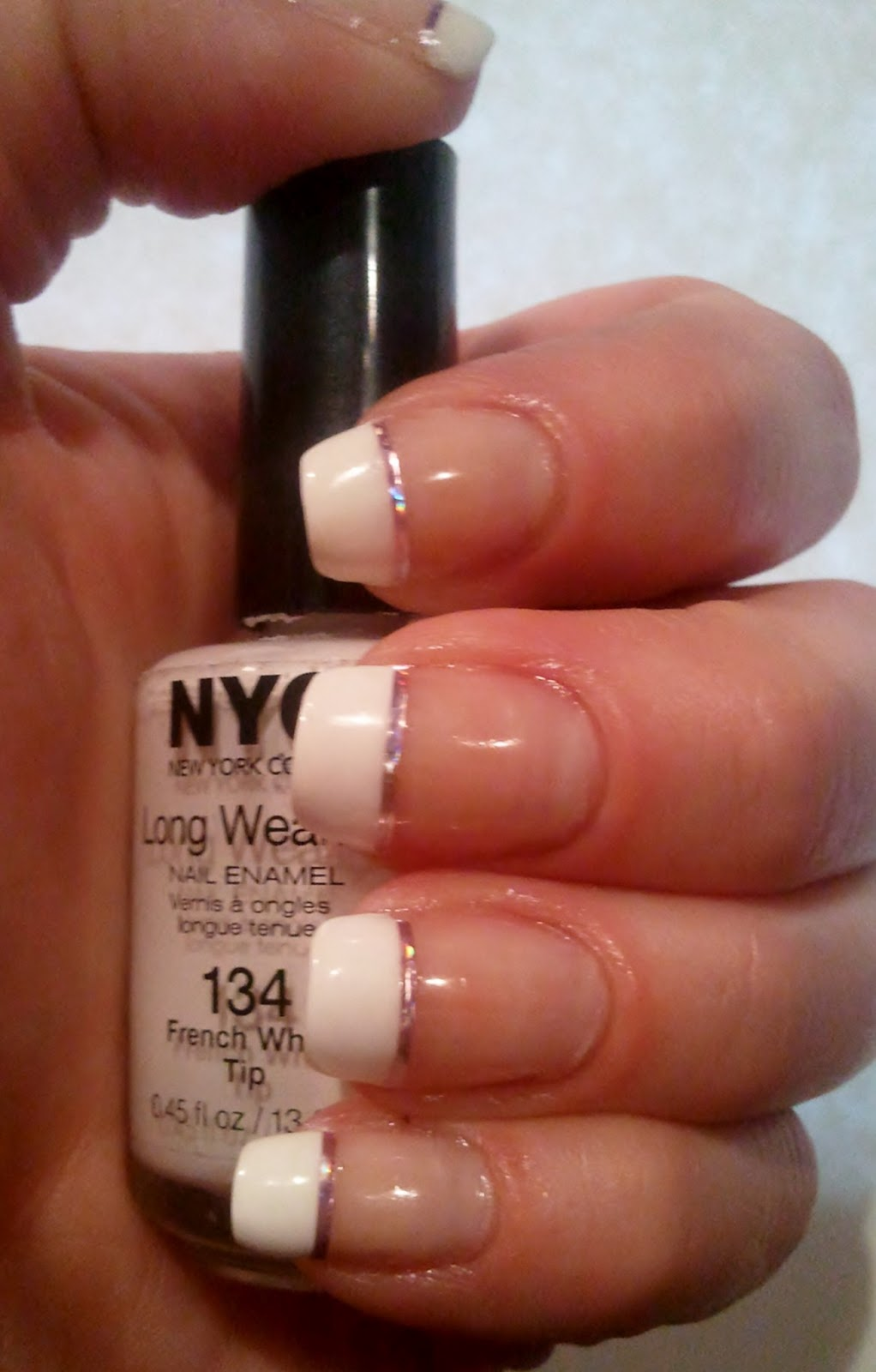 Polish Luv: French Manicure with Striping Tape
