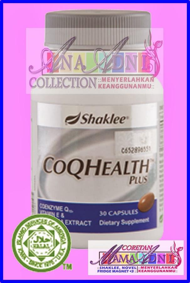 Jana Tenaga Extra dengan CoQHealth Plus Shaklee
