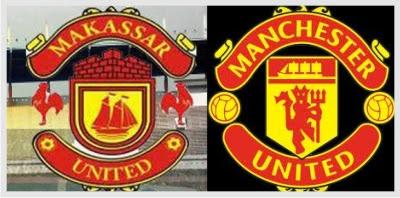 Logo Makassar United vs Manchester United