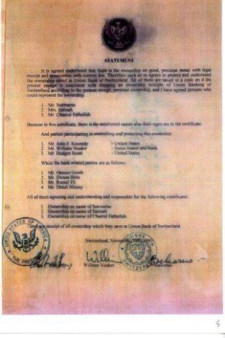 The Green Hilton Memorial Agreement - Harta Karun Emas Indonesia di Geneva