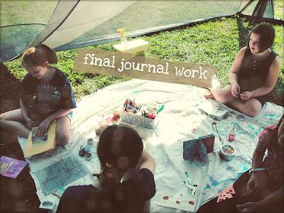 Mighty Girl Art™: Send Me On My Way: Day 5 Sabrina Ward Harrison Sketchbook