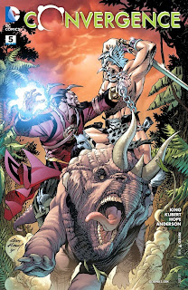 Cover of Convergence #5 from DC Comics