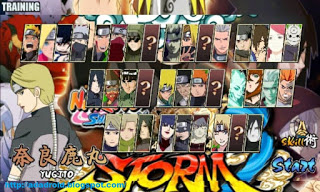 Naruto Senki Mod Unlocked All Character 2017 Terbaru Apk Unlock All