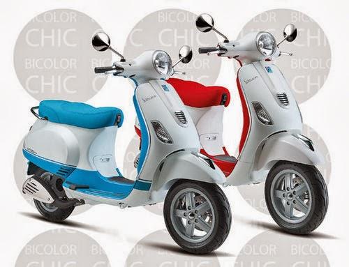 Piaggio Việt Nam giới thiệu Vespa LX Bi-color