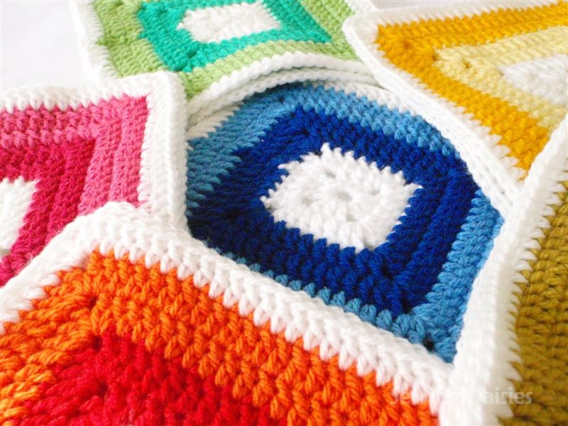Crochet Granny Square Sweater Pattern : granny square crochet-Knitting Gallery