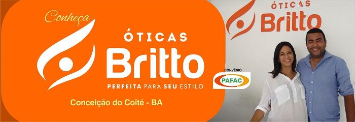 Declara Arrison Costa e Marla Brito casados e proprietários das óticas  Brito em Conceição do Coité. 17917fb3d9