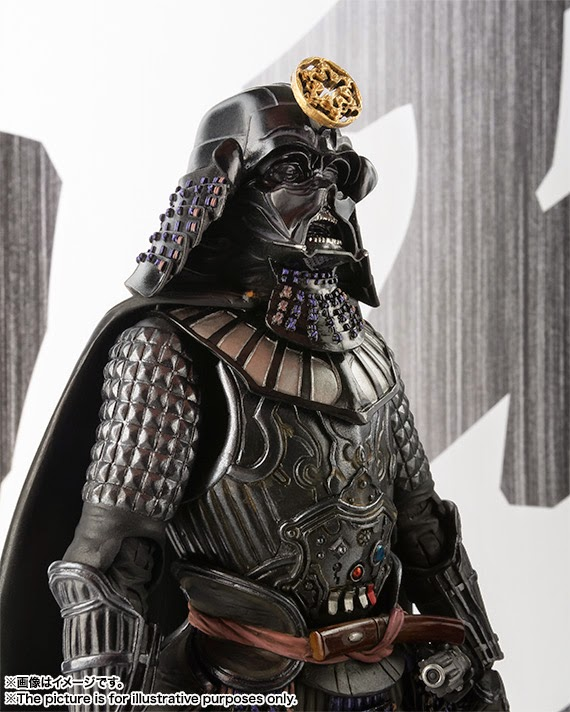 Samurai Darth Vader Star Wars Movie Realization Action Figure by Bandai