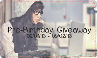 Pre-Birthday Giveaway