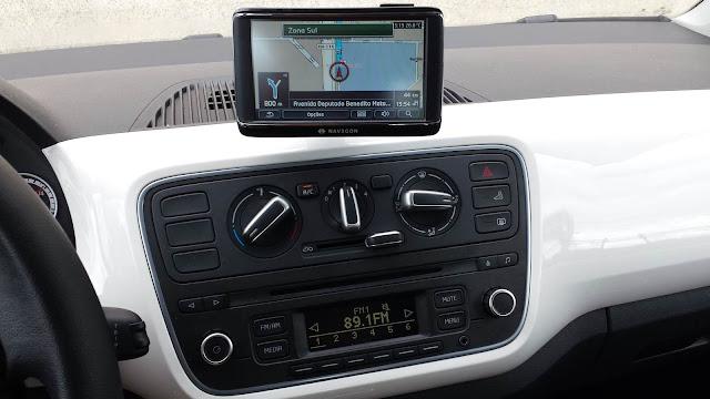 Volkswagen up! - Painel - interior
