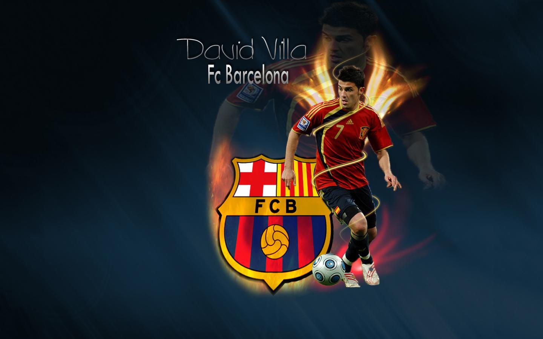 Amazing Wallpaper Logo Messi - David+Villa+4  HD_102575.jpg