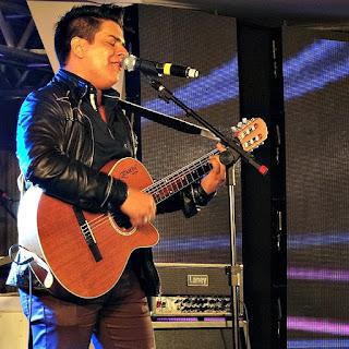 Miguel Lucato na Festa Nacional da Música de 2015.