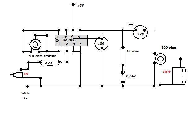 how to build your own audio amplifier