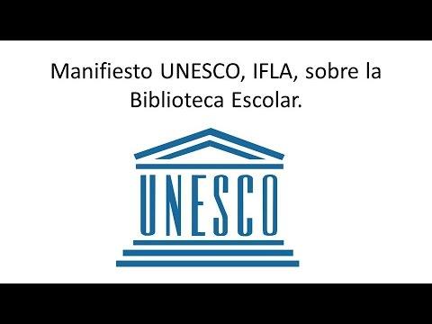 Manifesto UNESCO sobre Bibliotecas Escolares