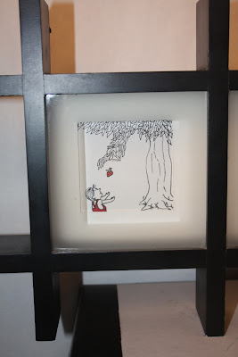 The Giving Tree, Shadow Box, Art, DIY, Giving, Tree, Shadow, Box