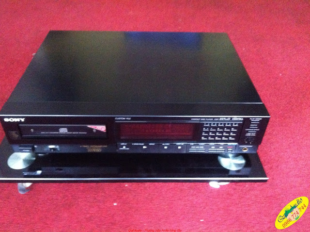 Đầu CD Player, model: CDP-227ESD, made in Japan