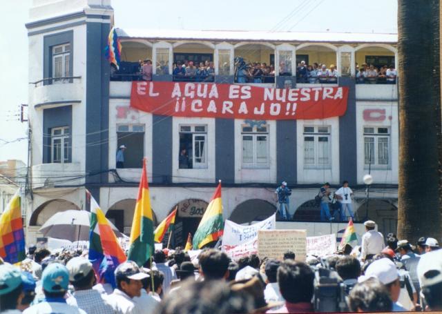 Risultati immagini per escuela agua cochabamba