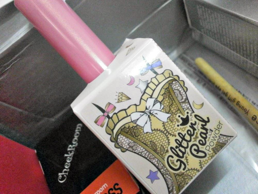 Memebox #37 Wakeup Makeup Box glitter pearl powder eyeshadow