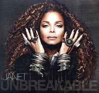 Janet Jackson cd disc Unbreakable