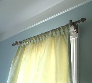 The Dusty Victorian Silk Curtains In The Eastlake