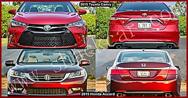 2016 Honda Accord Hybrid Vs Toyota Camry What S The Difference