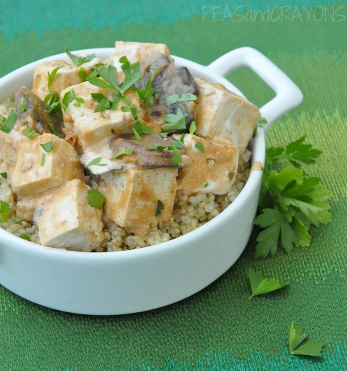 Tofu Stroganoff Recipe — Dishmaps